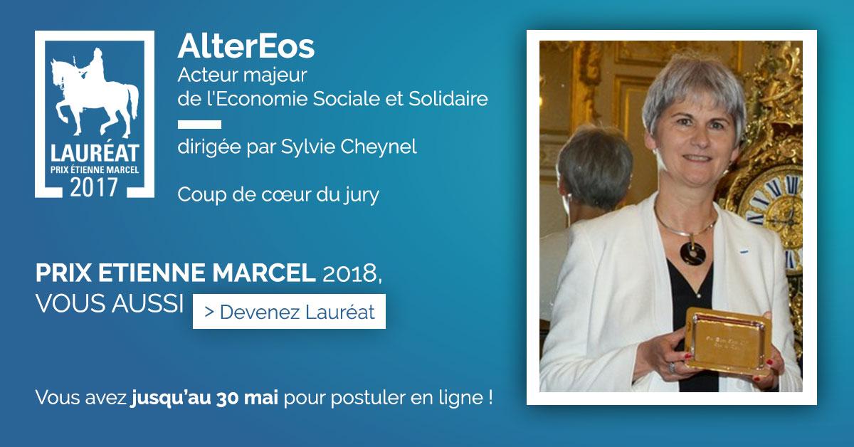 Lauréat Prix Etienne Marcel 2017 - Alter Eos