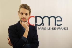 La CPME Paris Ile-de-France booste la qualité de vie au travail de ses collaborateurs en recrutant un artiste salarié