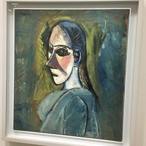 Pablo Picasso. Buste de femme. 1907. 66 X 59