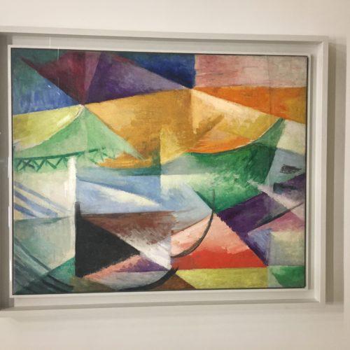 Robert Delaunay. Une fenêtre. 1912, 111 X 90