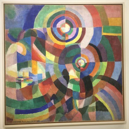 Sonia Delaunay. Prismes électriques, 1914. 250x250