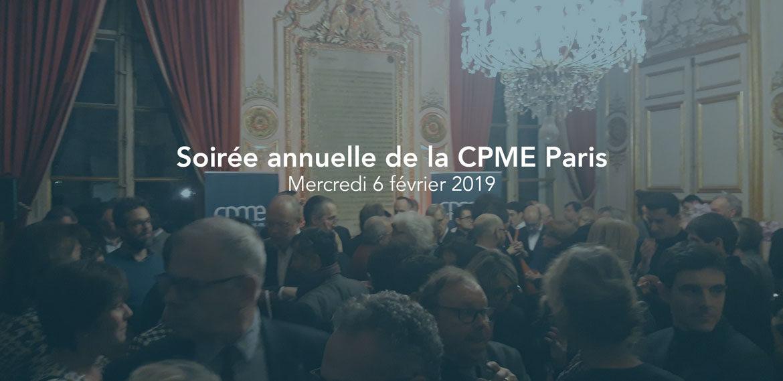 Pour cette édition, la CPME Paris a souhaité mettre en avant l'engagement des chefs d'entreprises qui s'engagent pour défendre l'esprit d'entreprise et pour représenter localement les TPE et PME dans les différentes instances où siègent la CPME Paris Ile-de-France. L'engagement de la CPME dans le développement de l'emploi, notamment auprès des jeunes franciliens, a également été mise en avant par Bernard Cohen-Hadad, Président de la CPME. Enfin, parce que les TPE et les PME sont le pilier de l'économie européenne, la dernière partie de l'ouverture de cette soirée était dédiée à l'Europe.