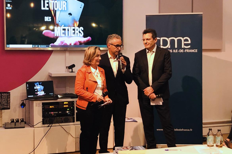 La CPME Paris Ile-de-France s'est associée à la plateforme parcoursmetiers.tv, afin de fédérer des startup, TPE et PME innovantes et de faire connaître les métiers d'avenir et dont elles ont déjà besoin.