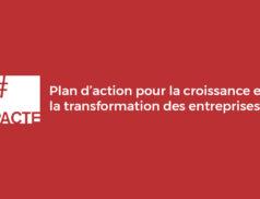 Projet de loi PACTE : Plan d'Action pour la Croissance et la Transformation des Entreprises