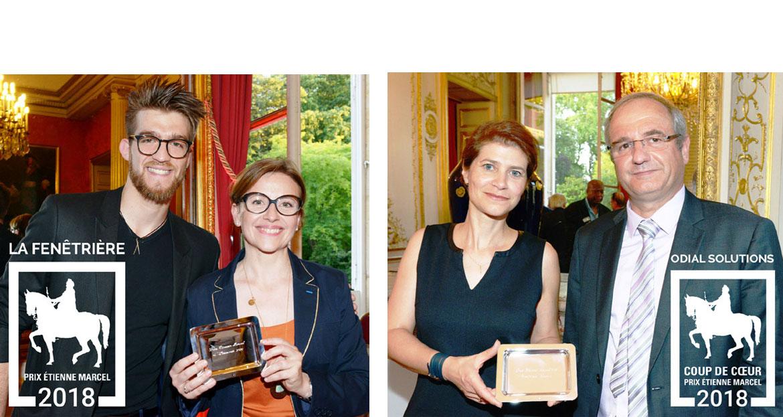 Le Prix Etienne Marcel, qui sont les lauréats 2018 ?