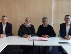 Signature de la Convention entre la CPME Paris Ile-de-France et l'UDES Ile-de-France