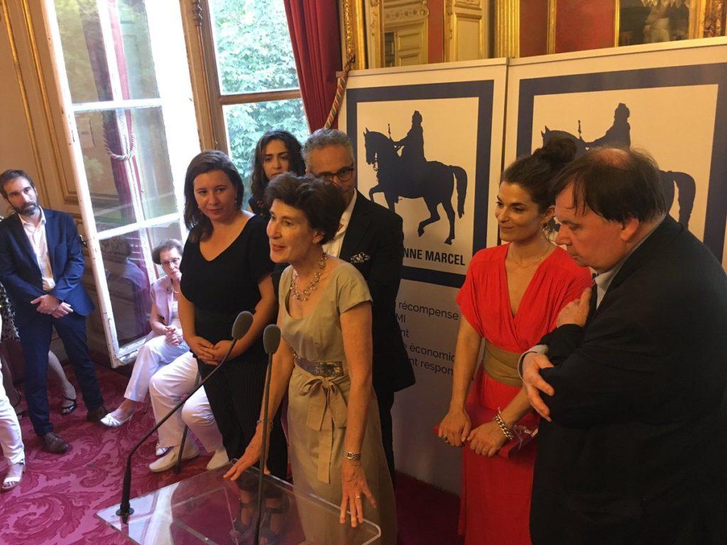 Prix Etienne Marcel 2019 - Fabienne Saligue - Maison Fey