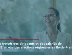 Dans le contexte des élections régionales de juin 2021, la CPME Paris Ile-de-France et l'Ifop ont sondé 1 000 dirigeants et salariés pour dresser un bilan et identifier les attentes des TPE-PME.
